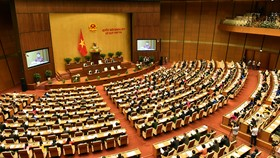 Khai mạc trọng thể kỳ họp thứ 3, Quốc hội khóa XIV. Ảnh: LÃ ANH