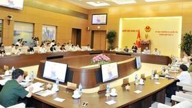Quang cảnh phiên khai mạc phiên họp thứ 13 của UBTVQH