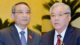 Đề nghị miễn nhiệm Bộ trưởng Bộ GTVT và Tổng Thanh tra Chính phủ