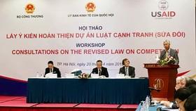 Ông Nguyễn Đức Kiên - Phó Chủ nhiệm Ủy ban Kinh tế của Quốc hội phát biểu khai mạc Hội thảo