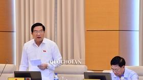 Chủ tịch Hội đồng Dân tộc Hà Ngọc Chiến