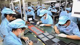 Ngành sản xuất sản phẩm điện tử, máy vi tính và sản phẩm quang học tăng 1,9% so với cùng kỳ năm 2018