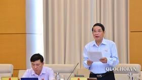 Chủ nhiệm Uỷ ban Tài chính - Ngân sách Nguyễn Đức Hải cho biết, dự thảo lần này chỉ cho phép Trưởng đoàn kiểm toán được phép truy cập dưới sự giám sát và thống nhất về phạm vi truy cập của đơn vị được kiểm toán