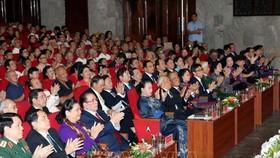 Lãnh đạo Đảng, Nhà nước Ủy ban Mặt trận Tổ quốc Việt Nam, các bộ, ban, ngành, đoàn thể của trung ương và thành phố Hà Nội tham dự lễ kỷ niệm
