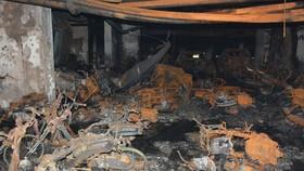 Chung cư nơi xảy ra vụ cháy kinh hoàng. Ảnh: CHÍ THẠCH