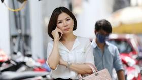Bà Vũ Thụy Hồng Ngọc, vợ cũ bác sĩ thẩm mỹ Chiêm Quốc Thái. Ảnh: P.A.