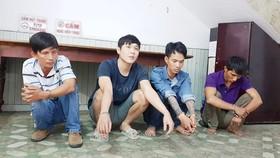 Bắt băng nhóm chuyên đột nhập đình, chùa trộm tài sản