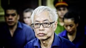 Bị can Trần Phương Bình, nguyên Tổng giám đốc Ngân hàng TMCP Đông Á (DAB).