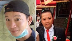Hai đối tượng cầm đầu vụ truy sát khiến 4 thanh niên bị thương là Thức và Nguyện đang bỏ trốn (từ trái qua phải). Ảnh: CHÍ THẠCH