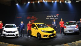 Honda Brio mới ra mắt ở Việt Nam với giá 418 triệu đồng.