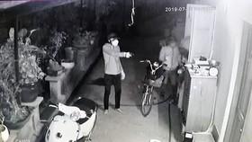 Hình ảnh nhóm đối tượng ghi nhận qua camera