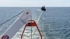 Cứu thành công 17 ngư dân Nghệ An bị nạn trên biển