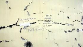 """Cục Quản lý đường bộ III: """"Không có vết nứt mới ở hầm Hải Vân"""""""