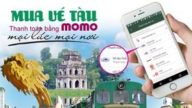 Giảm 50% giá vé tàu cho hành khách mua và thanh toán bằng ví điện tử