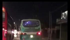 Xử lý nghiêm xe buýt lao lên vỉa hè