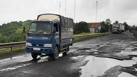 Xử lý trách nhiệm 3 cá nhân liên quan QL1 qua Phú Yên hư hỏng
