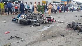 Phó Thủ tướng yêu cầu điều tra nguyên nhân vụ tai nạn xe container đâm hàng loạt xe máy