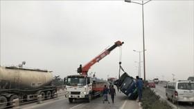 Vụ tai nạn trên cầu Thanh Trì ngày 20-1