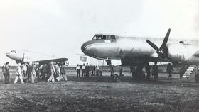 IL-14 là một trong những chiếc máy bay đầu tiên của Trung đoàn Không quân vận tải 919
