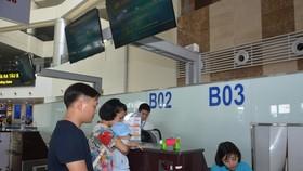 Gia đình có trẻ nhỏ được ưu tiên khi làm thủ tục hàng không