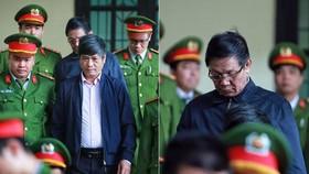 2 bị cáo Nguyễn Thanh Hóa và Phan Văn Vĩnh trong ngày tuyên án