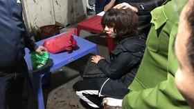 Bắt 1 đối tượng nghi dùng súng cướp tiền ở chợ Long Biên