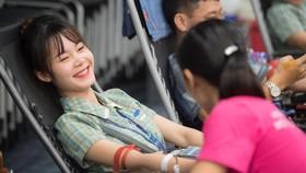 Công nhân một công ty tại Bắc Ninh tham gia hiến máu