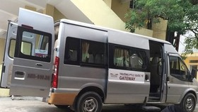 Khám nghiệm hiện trường và chiếc ô tô Ford Transit trong vụ học sinh trường Gateway tử vong