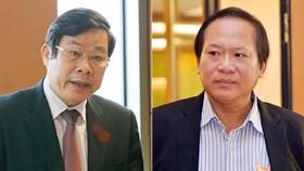 2 bị can Nguyễn Bắc Son và Trương Minh Tuấn