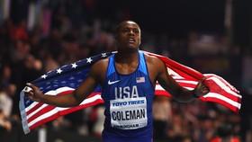 Christian Coleman đăng quang ở Birmingham