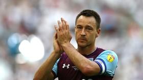 John Terry trong màu áo của Aston Villa