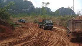 Xây dựng khu tái định cư mới cho bản Sa Ná ở Thanh Hóa