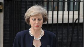 英國首相特蕾莎‧梅(圖片來源:互聯網)