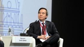 黨中央政治局委員、中央書記處書記、越南中央經濟部長阮文平
