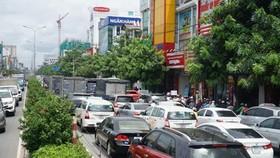 新山一機場南面區域共和街的交通正處於超負荷狀態。