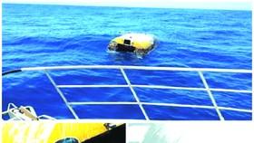 """澳大利亞警方發佈的""""幽靈船""""組合圖。"""