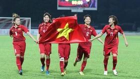 越南女子足球隊。