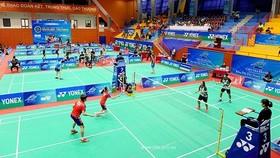 羽毛球國際挑戰賽比賽一瞥。