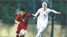 越南-伊朗比賽一瞥。