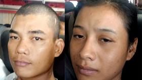 文友風(27歲)和陳氏雪鈴(31歲,同住本市)(圖源:互聯網)