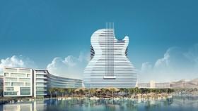 """全世界第一間""""吉他外型酒店"""""""