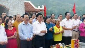 原黨中央政治局委員、原國家主席張晉創