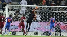 卡塔爾0-0印度。