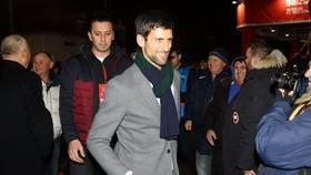 Novak Djokovic được các CĐV Red Star nhiệt liệt chào đón