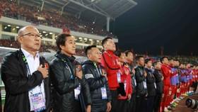 công Phượng tin HLV Park Hang Seo sẽ giúp tuyển Việt Nam lọt vào World Cup 2022 (Ảnh Dũng Phương)