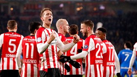 Niềm vui chiến thắng của PSV