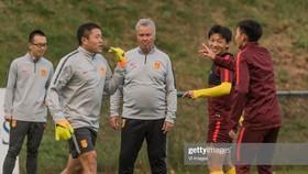 Những ngày tháng làm việc ở Trung Quốc của ông Hiddink đã sớm kết thúc