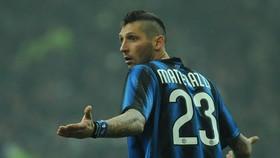 Marco Materazzi trong màu áo Inter. Ảnh: Getty Images.