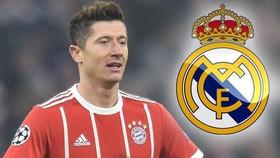Robert Lewandowski mơ khoác áo Real Madrid.
