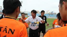 Huỳnh Đức lại tái hợp cùng đội bóng sông Hàn. Ảnh: PHI HẢI
